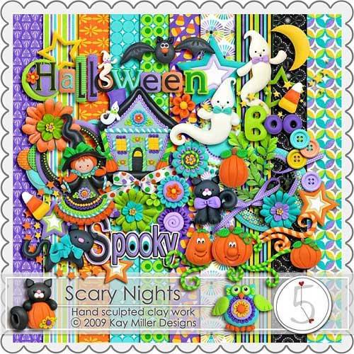 Детский скрап набор - Страшные ночи.jpg