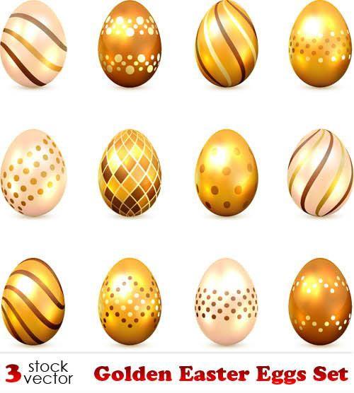 Golden Easter Eggs Set.jpg